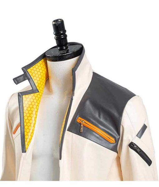 Valorant Phoenix Fiery White Jacket