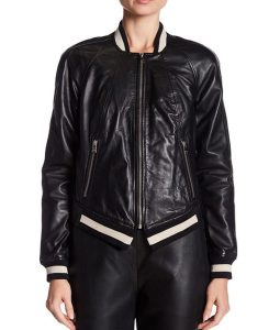 Dare Me Colette French Bomber Jacket