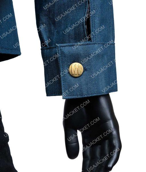 You Season 2 Joe Goldberg Blue Denim Jacket