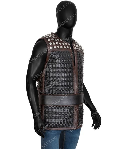 Alexander Dreymon Uhtred The Last Kingdom Season 03 Vest With Studs