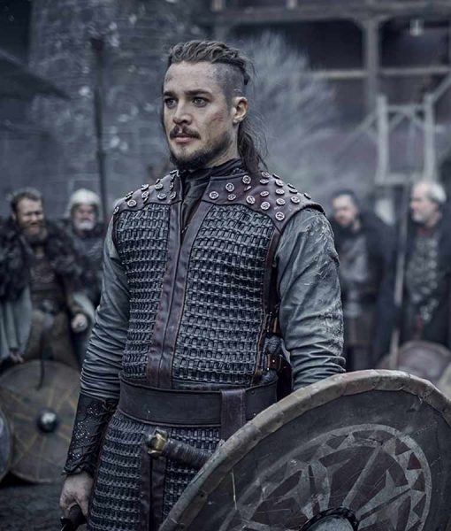 Alexander Dreymon The Last Kingdom Season 03 Vest With Studs