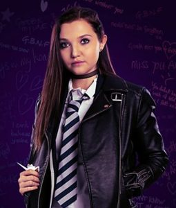 Bree Get Even Black Leather Jacket