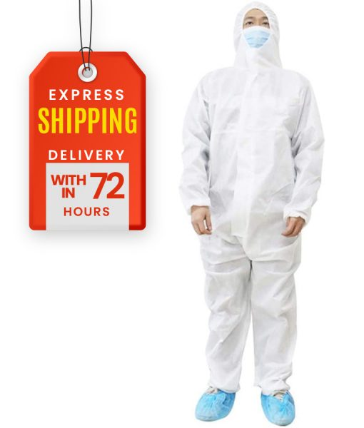 COVID White Protective Suit