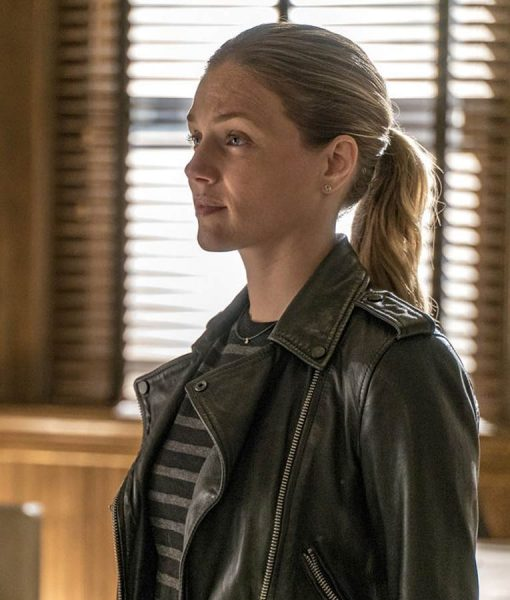 Chicago P.D. Hailey Upton Leather Jacket