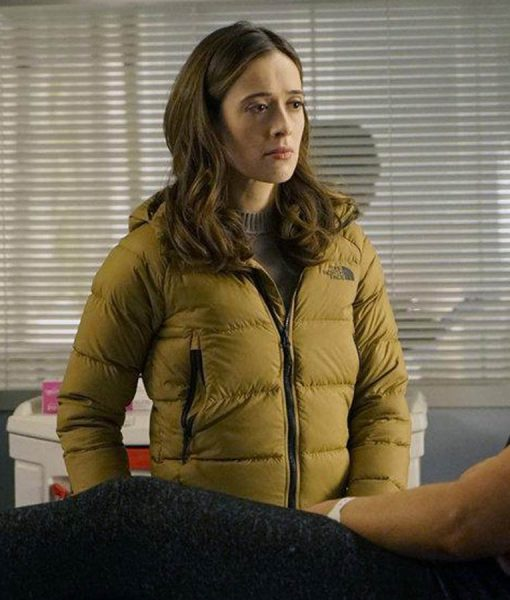 Chicago P.D. S07 Ep13 Kim Burgess Puffer Hooded Jacket