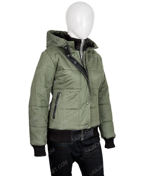 Chicago P.D. S07 Ep19 Hailey Upton Puffer Jacket With Hood