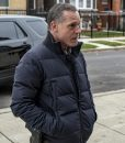 Chicago P.D. S07 Black Boxy Puffer Hank Voight Jacket