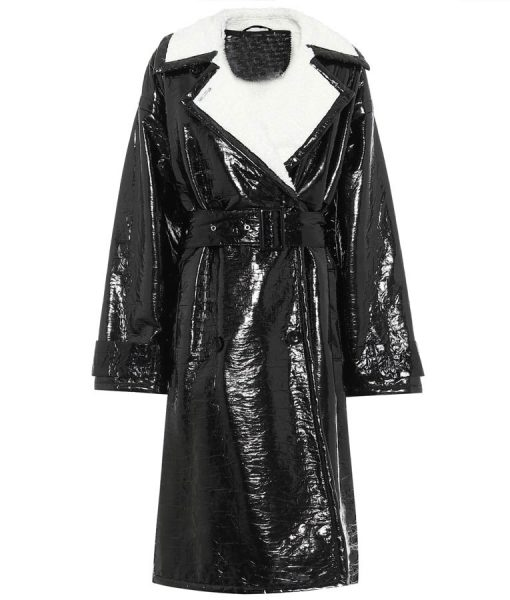 Dynasty S03 Alexis Carrington Black Coat