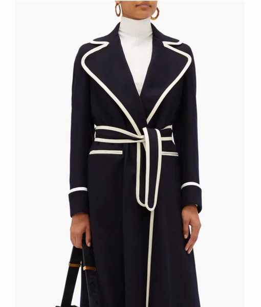 Dynasty S03 Fallon Carrington Long Coat