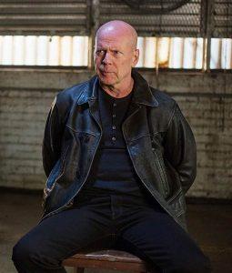 Bruce Willis Extraction Leather Jacket