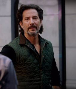 Henry Ian Cusick MacGyver S04 Russ Taylor Quilted Vest