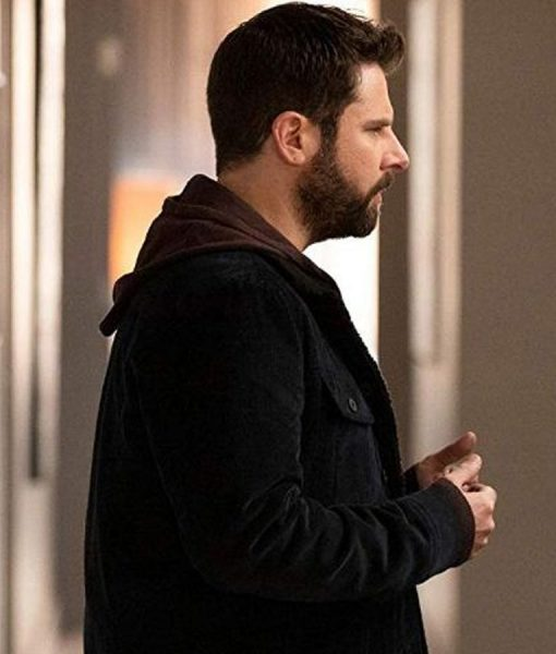 James Roday Million Little Things Suede leather Jacket