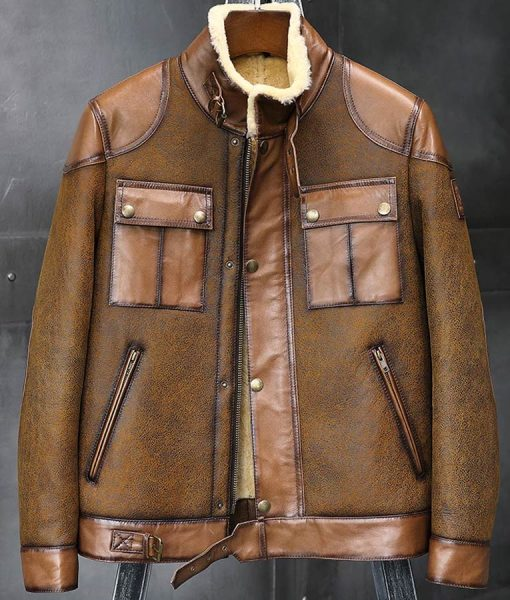 Jason Shearling Sheepskin Jacket