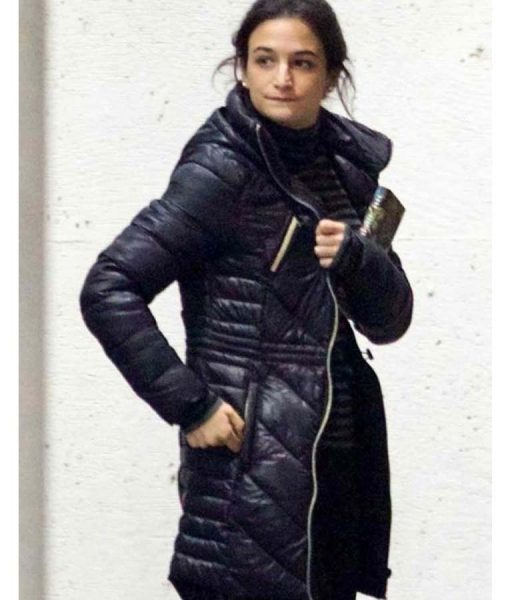 Jenny Slate Puffer Venom Coat