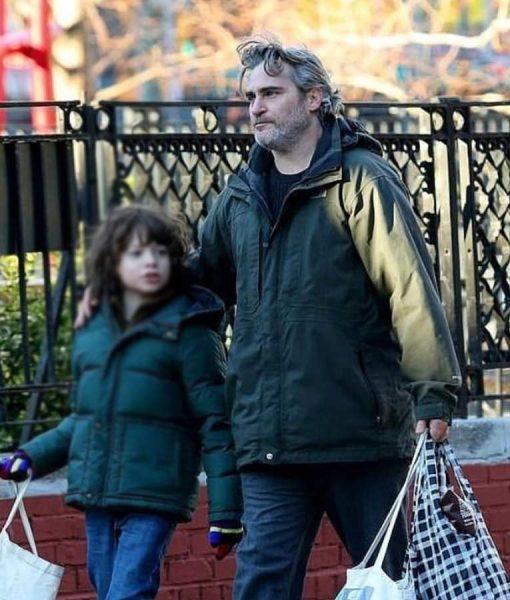 Joaquin Phoenix C'mon C'mon Jacket With Hood