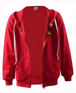 The Mitchells vs the Machines Red Hoodie