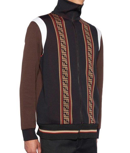 Kenya Barris Fleece BlackAF Jacket