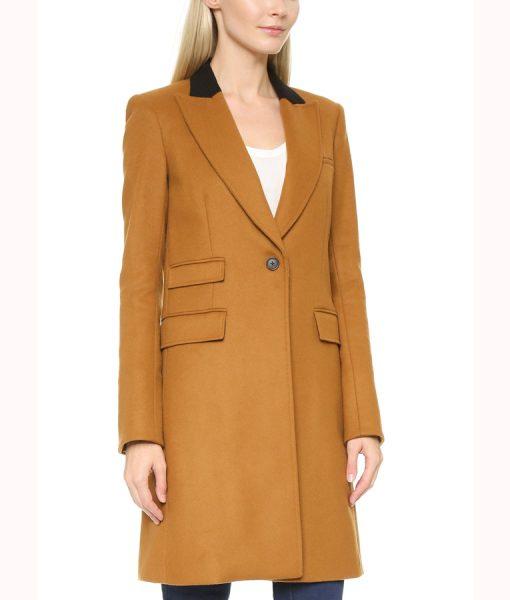 Manifest Season 02 Michaela Stone Trench Coat