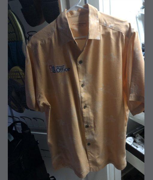 Microsoft Office Hawaiian Shirt