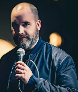 Tom Segura Ball Hog Blue Bomber Jacket