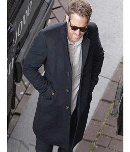 Michael Bryce The Hitman's Bodyguard Wool-blend Coat