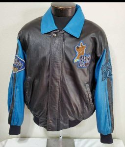 Scooby-Doo Bomber Leather Jacket