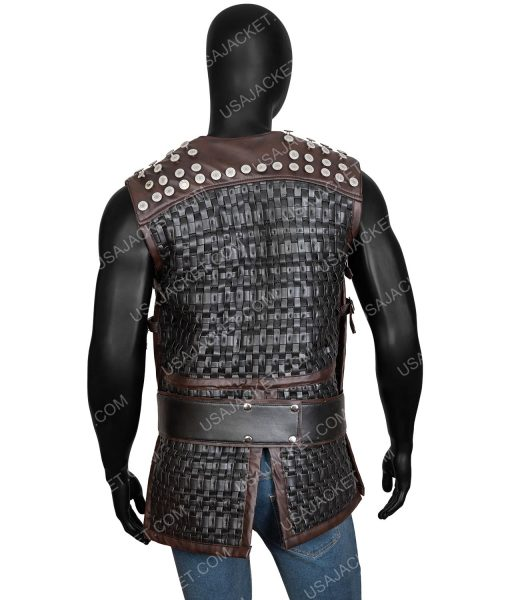AThe Last Kingdom Season 03 Studded Vest