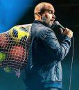 Tom Segura Ball Hog Blue Bomber Jacket