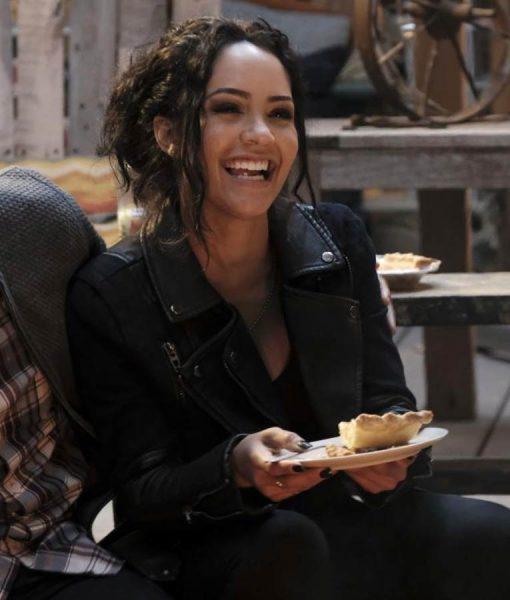 MacGyver Riley Davis Black Jacket