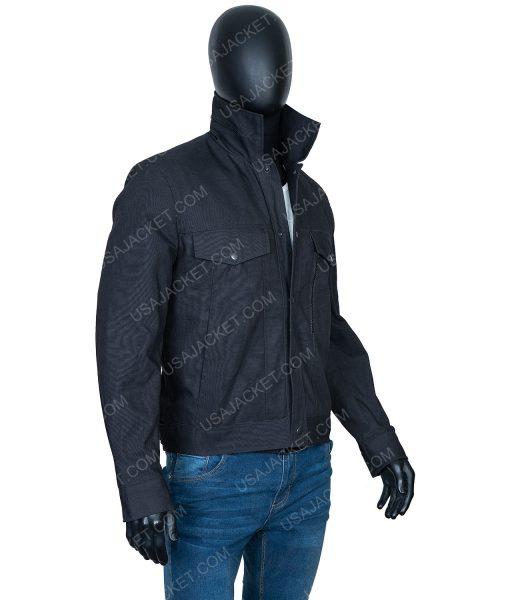 Caleb Nichols Black Cotton Jacket