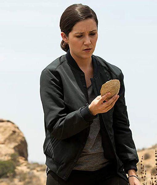 Westworld S03 Shannon Woodward Bomber Jacket