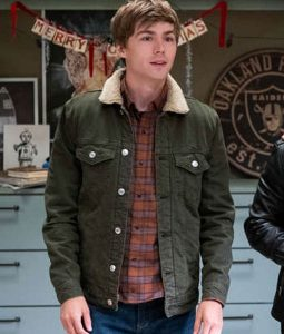 13 Reason Why S04 Alex Standall Denim Jacket