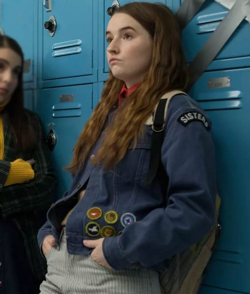 Kaitlyn Dever Amy Booksmart Denim Jacket With Patches