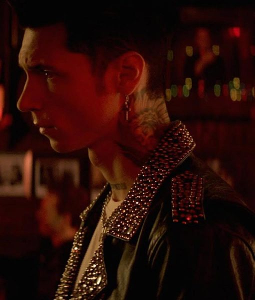 Andy Biersack Paradise City Jacket with studs