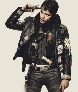 Kiowa Gordon Blood Quantum Jacket With Patches