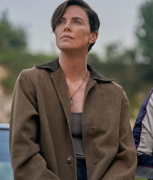 Charlize Theron The Old Guard Andy Coat