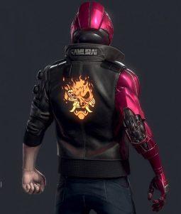 Cyberpunk 2077 Night City Dreamer Leather Jacket