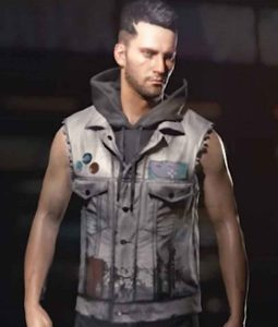 V Male Cyberpunk 2077 Vest