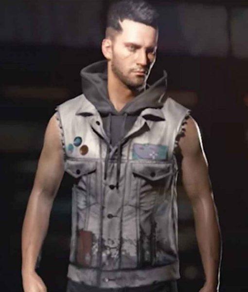 Cyberpunk 2077 V Male leather Vest