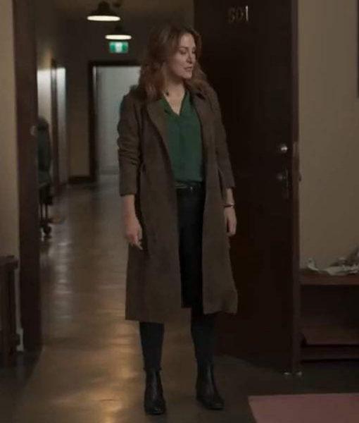 Sasha Alexander Dangerous Lies Detective Coat