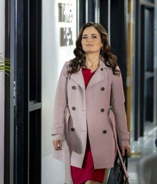 Danica McKellar Matchmaker Mysteries A Fatal Romance Coat