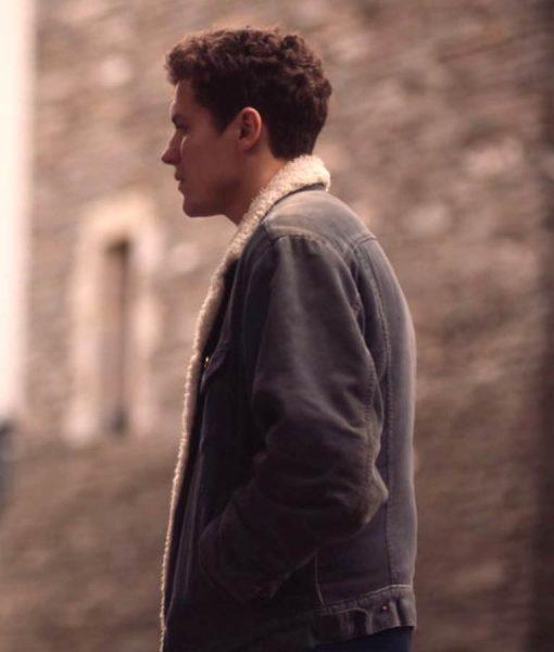 Dylan Llewellyn Derry Girls James Suede Jacket
