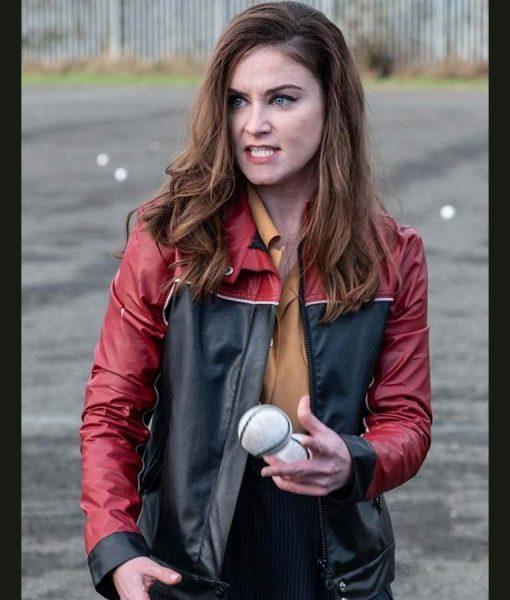 Derry Girls Ms De Brún Leather Jacket