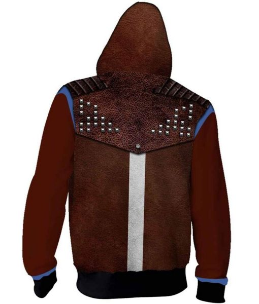 Dying Light 2 BrownHoodie With Sutds
