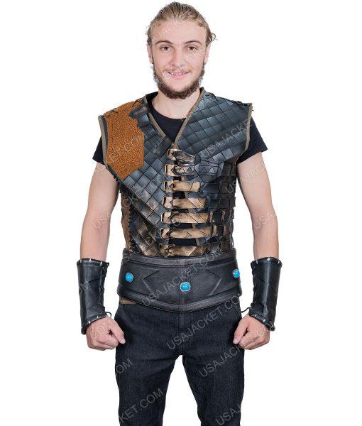 Ertugrul Bey Leather Vest