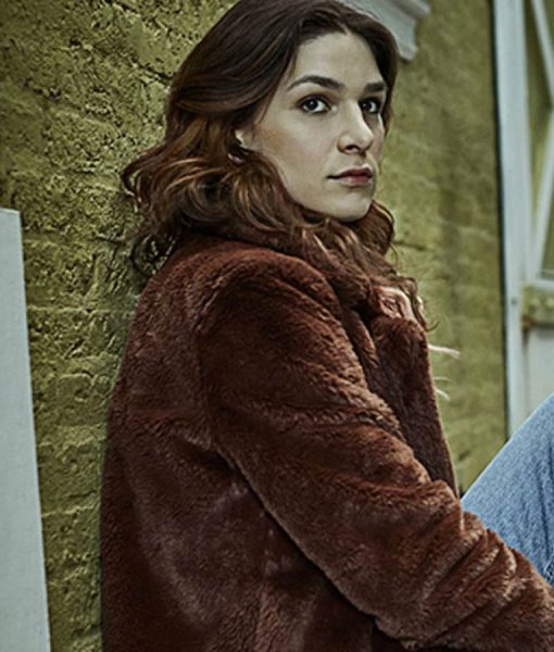 Eve Lindley Dispatches From Elsewhere Shearling Jacket