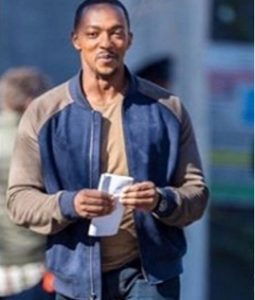 Falcon and Winter Soldier Anthony Mackie Bomber Jacket