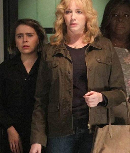 Good Girl Season 03 Beth Boland Brown Field Jacket