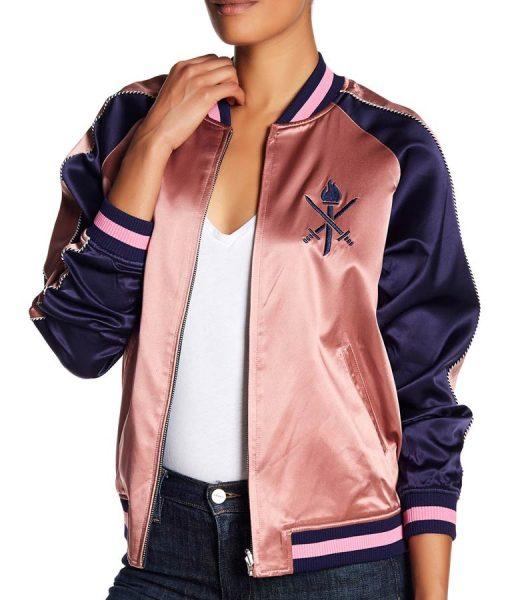 Grown-ish Zoey Johnson Bomber Jacket
