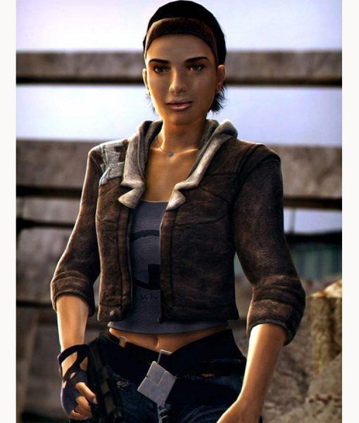 Half-Life 2 Alyx Vance Leather Jacket